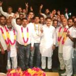दून में भाजपा छोड़ कांग्रेस में शामिल हुए लोगों के साथ विधायक चौधरी राम कुमार ।