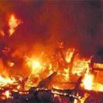 fire in banjar-