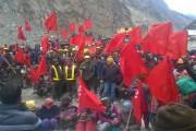 किन्नौर में एक और मजदूर आंदोलन की गूंज