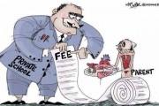 निजी शिक्षण संस्थानों पर अदालत का हथौड़ा