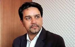 अनुराग ठाकुर बीसीसीआई के नए अध्यक्ष