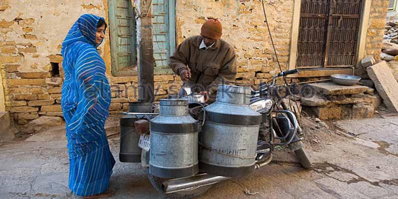 करसोग में दूध 10 रुपये लीटर