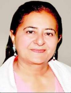 लेखक, रेणु चड्ढा, वरिष्ठ भाजपा नेता एवं डलहौजी में आशा कुमारी की मुख्य प्रतिद्वंद्वी हैं।