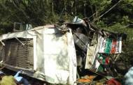 दाड़लाघाट में बस खाई में लुढ़की, 8 की मौत