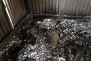 आंदोलनकारियों पर बाउंसरों का हमला, कैंप फूंका