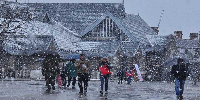 हिमाचल में वर्षों बाद 'व्हाइट क्रिसमस' का तोहफा