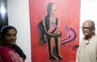गीतांजली की पेंटिंग को आर्ट वैली अवार्ड