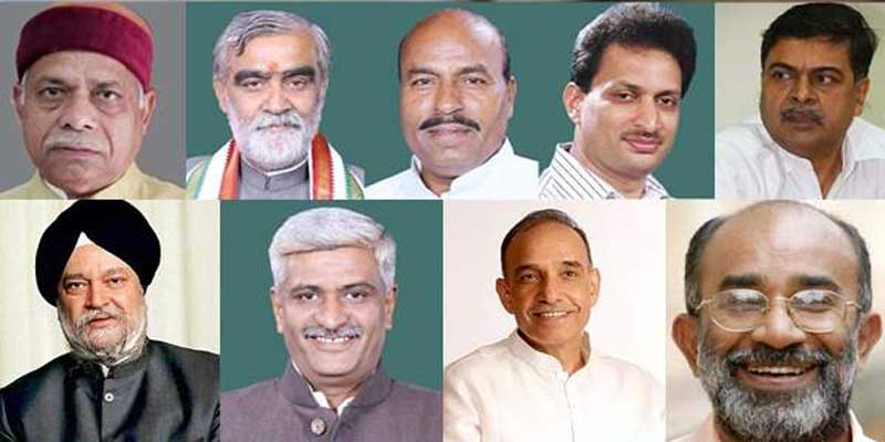 राष्ट्रपति ने नौ नए मंत्रियों को शपथ दिलाई