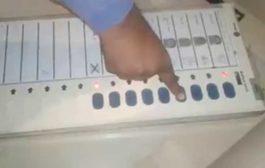 कोई भी बटन दबाओ- वोट भाजपा को, हंगामा