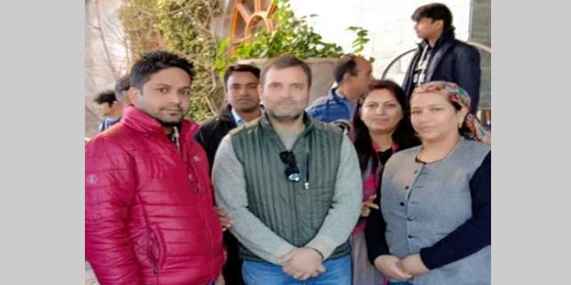 कार्यकर्ताओं में उत्साह फूंकने हिमाचल पहुंचे राहुल